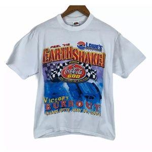 NASCAR 2004 Coca Cola 600 Mens Sz M Racing T Shirt
